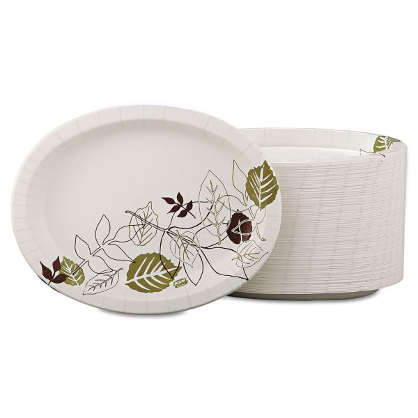 Dixie Ultra Heavyweight Oval Paper Platters