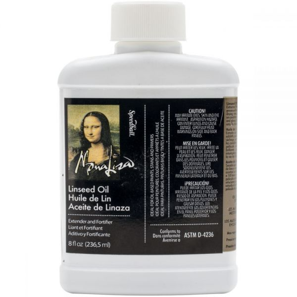 Mona Lisa Linseed Oil