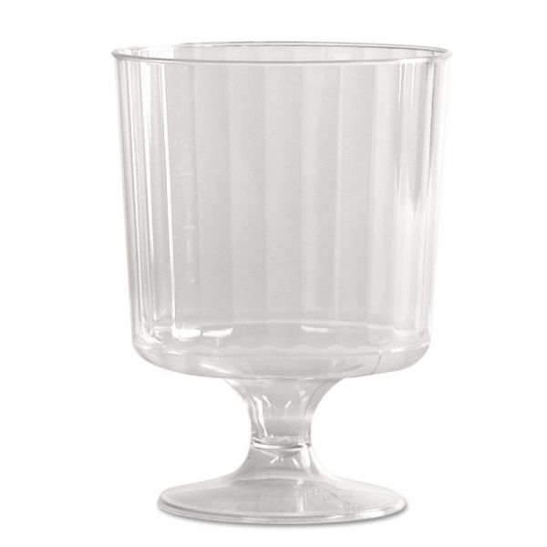 WNA Classic Crystal 8 oz Pedestal Wine Glasses