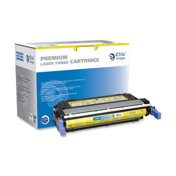 Elite Image Remanufactured HP CB402A Toner Cartridge