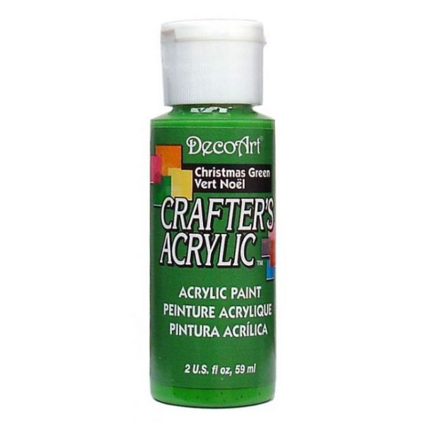Deco Art Christmas Green Crafter's Acrylic Paint