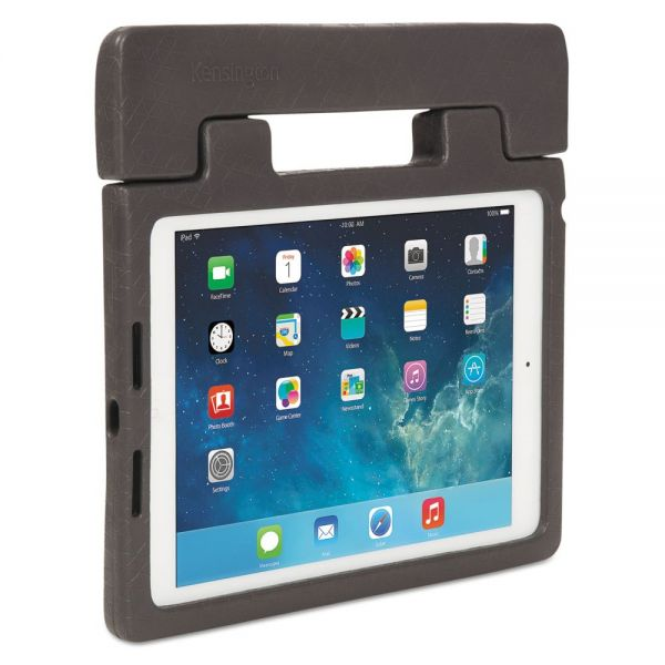Kensington Rugged Carry Case & Stand for iPad Air, Charcoal