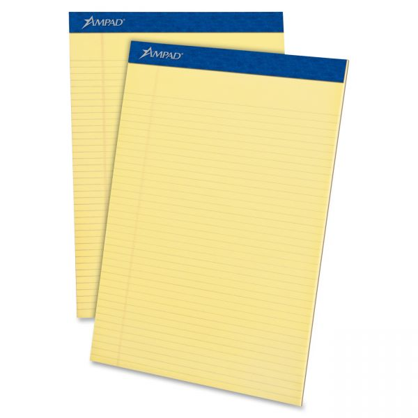 Evidence Letter-Size Yellow Legal Pads
