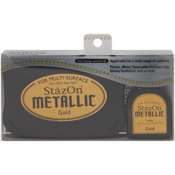 StazOn Metallic Ink Kit