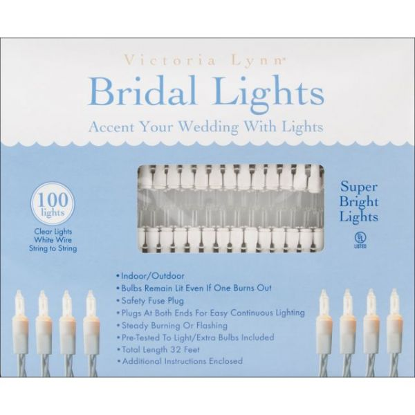 Bridal Lights 100 Count 32'