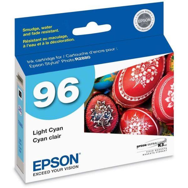 Epson T0965 Light Cyan Ink Cartridge (T096520)