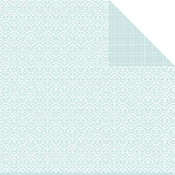 "Something Blue Double-Sided Cardstock 12""X12"""