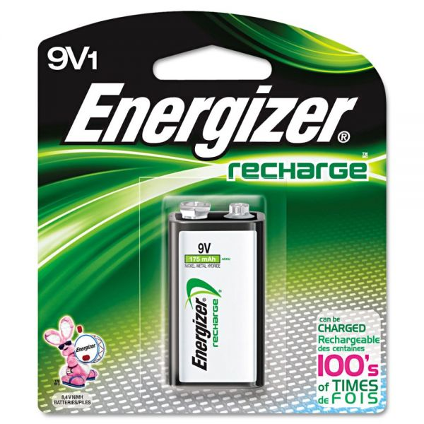 Energizer Rechargable 9V Battery