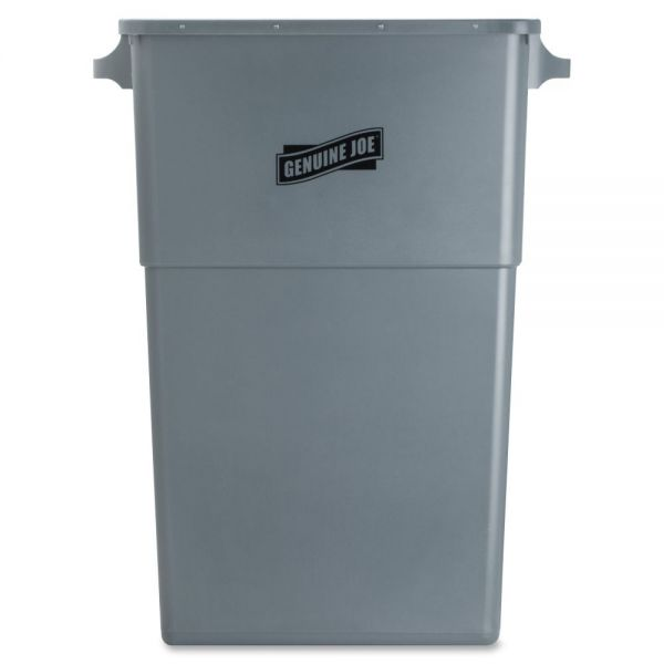 Genuine Joe Space-Saving 23 Gallon Trash Can