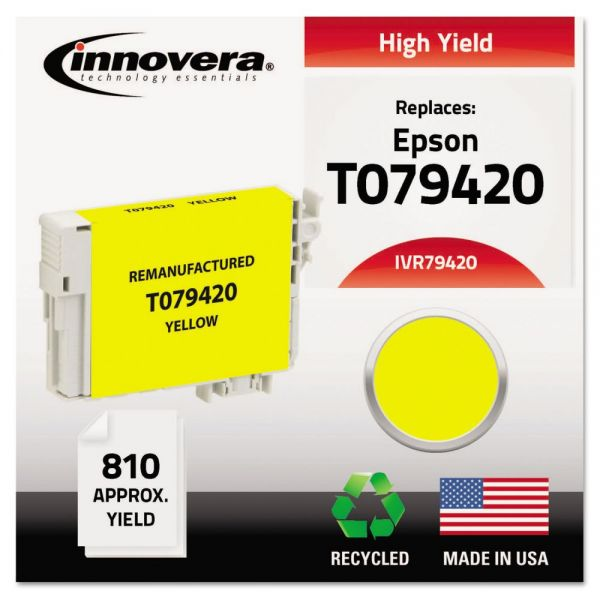 Innovera Remanufactured Epson T079420 High-Yield Ink Cartridge