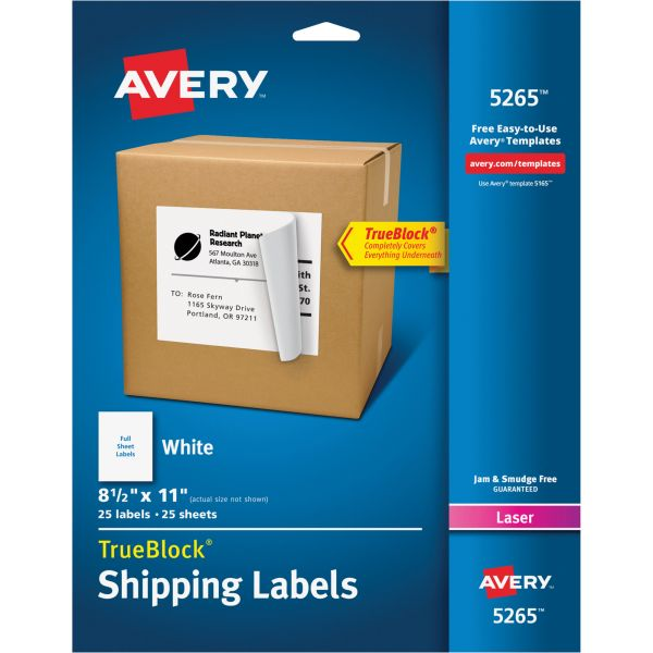 Avery 5265 Shipping Labels