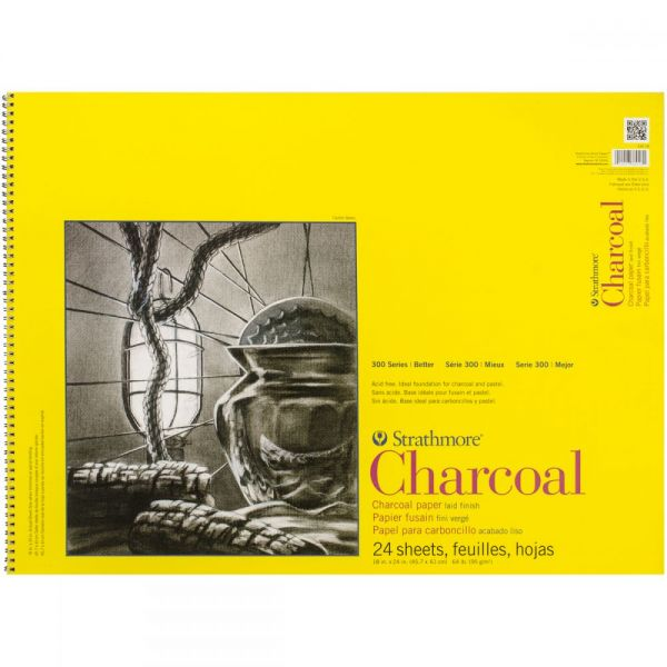 Strathmore Acid Free Charcoal Paper Pad