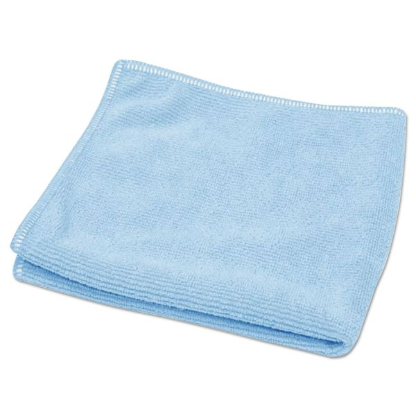 "Diversey TASKI Microstandard Cloths, Blue, 12 1/2"" x 12 1/2"", 20/Pack"
