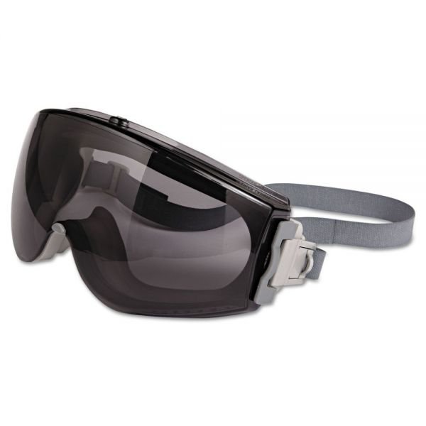 Uvex by Honeywell Stealth Safety Goggles, Gray/Gray