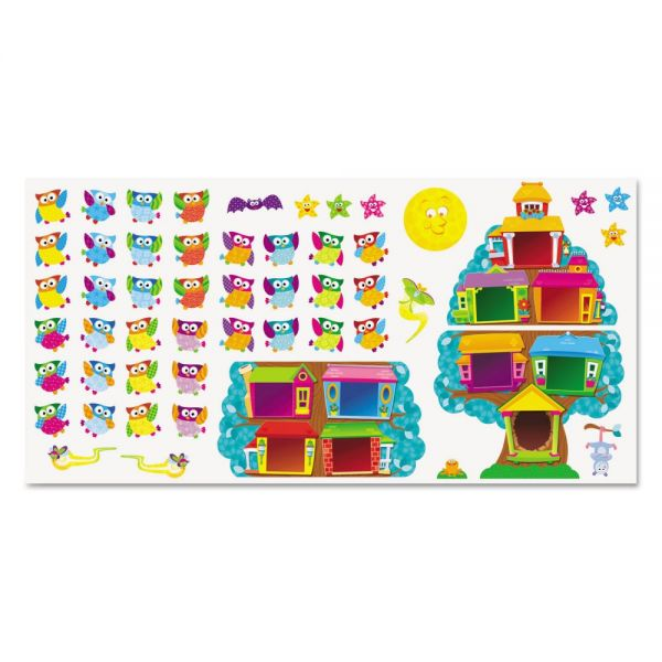 TREND Owl Stars! Job Chart Bulletin Board Set