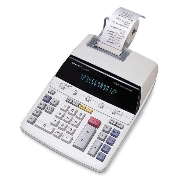 Sharp Calculators EL219R11 Printing Calculator