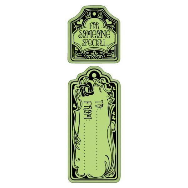 "Inkadinkado Valentine Cling Stamps 2""X6"" Sheet"