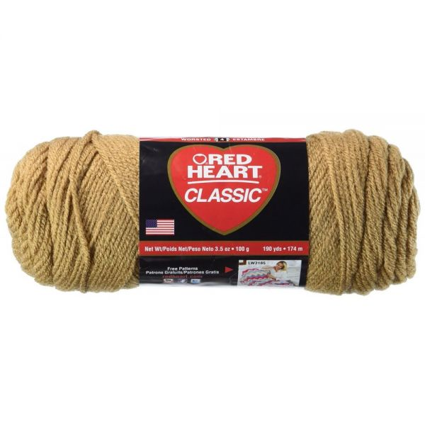 Red Heart Classic Yarn - Warm Brown