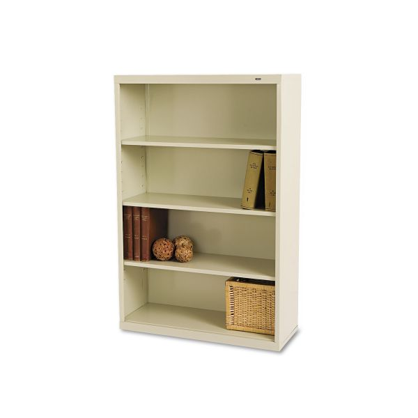 Tennsco Deep 4-Shelf Welded Steel Bookcase