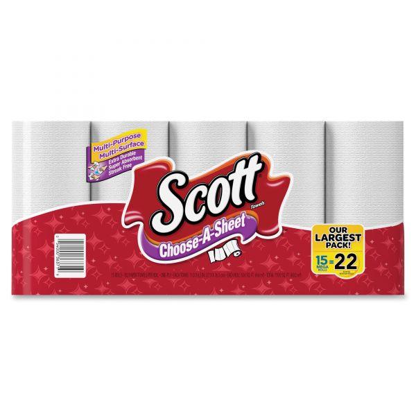 Scott Choose-A-Sheet Mega Roll Paper Towels