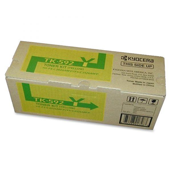 Kyocera TK592Y Yellow Toner Cartridge