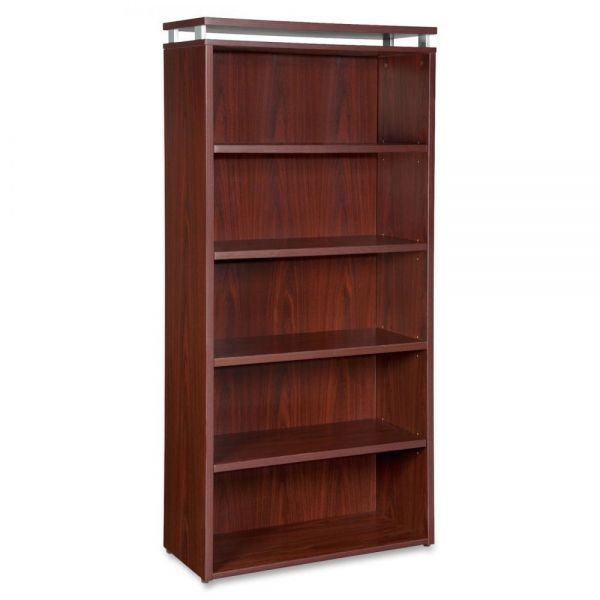 Lorell 68600 Series 5-Shelf Bookcase