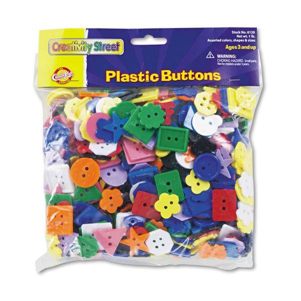 ChenilleKraft Plastic Buttons