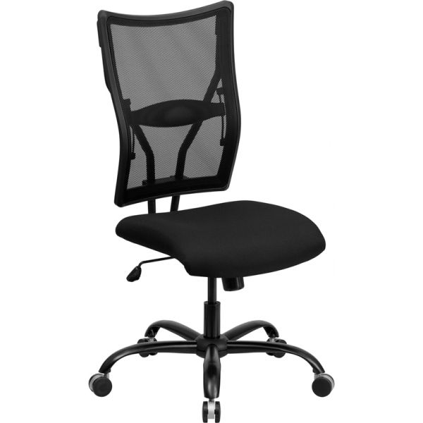 Flash Furniture Big & Tall Mesh Executive Swivel Office Chair [WL-5029SYG-GG]