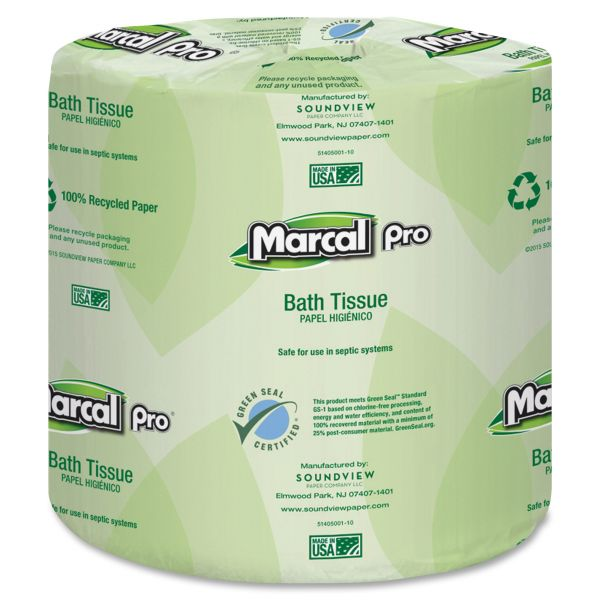 Marcal PRO Soft and Strong 100% Premium Recycled 2 Ply Toilet Paper