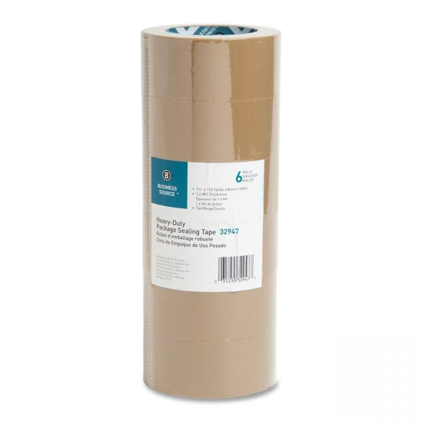 Business Source Tan Packaging Tape