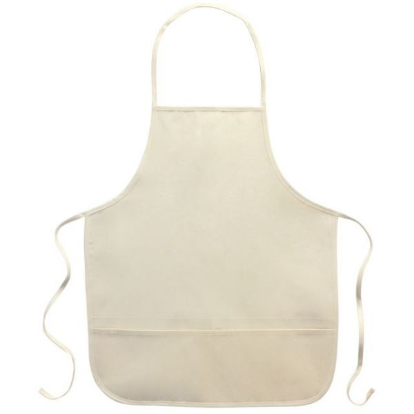 "Twill Adult 2-Pocket Apron 20"" X 23"""