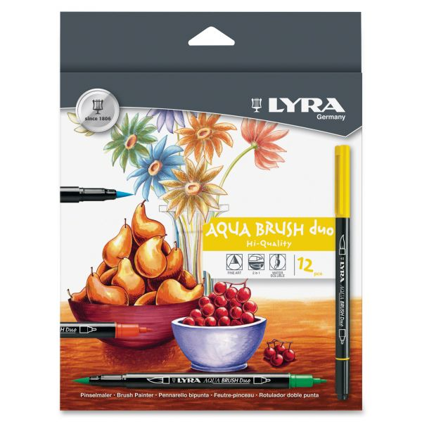 Lyra Aqua Brush Duo Markers