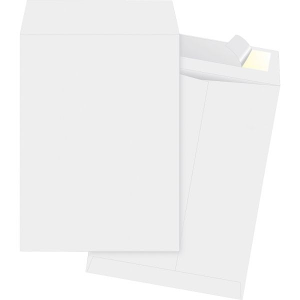 "Business Source 10"" x 15"" Tyvek Envelopes"