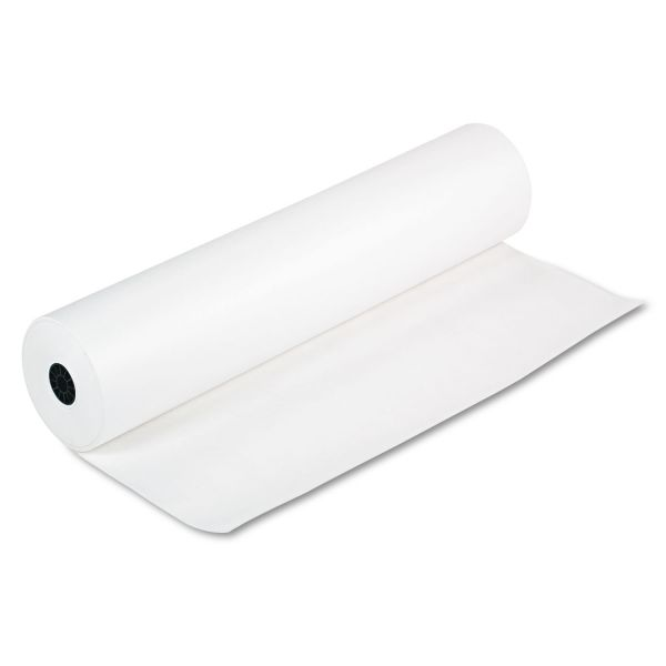 "Pacon Spectra ArtKraft Duo-Finish Paper, 48 lbs., 36"" x 1000 ft, White"