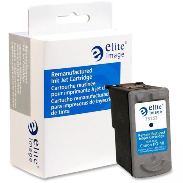 Elite Image Remanufactured Canon PG-40 Ink Cartridge