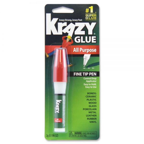 Krazy Glue All Purpose Super Glue Pen