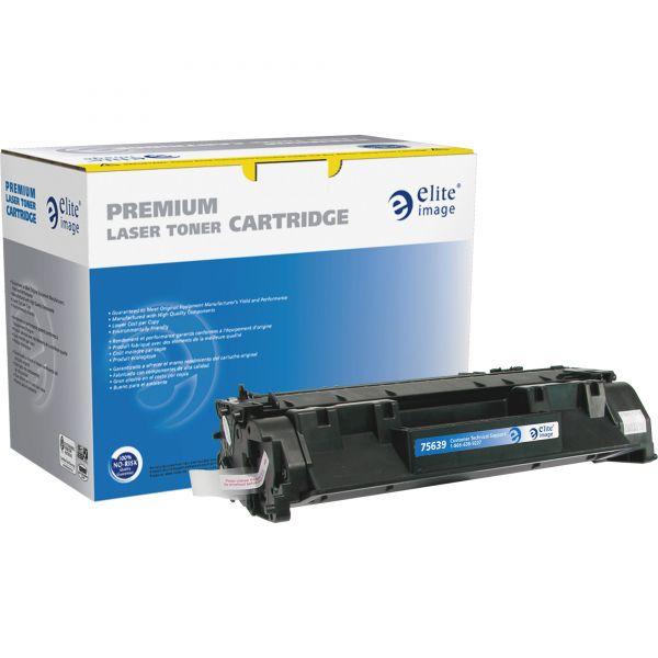 Elite Image Remanufactured HP 80A Black Toner Cartridge