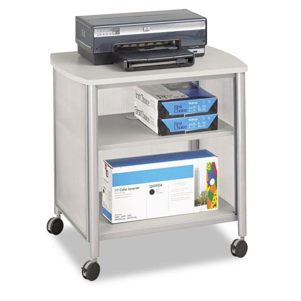 Safco Impromptu Machine Stand, One-Shelf, 26-1/4w x 21d x 26-1/2h, Gray