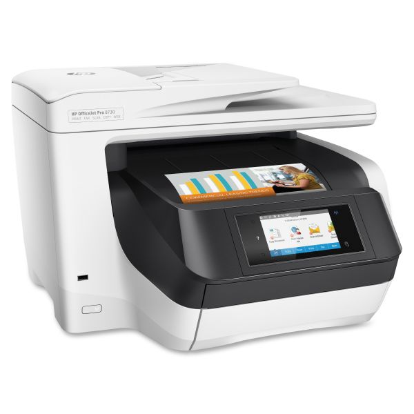 HP Officejet Pro 8730 Inkjet Multifunction Printer