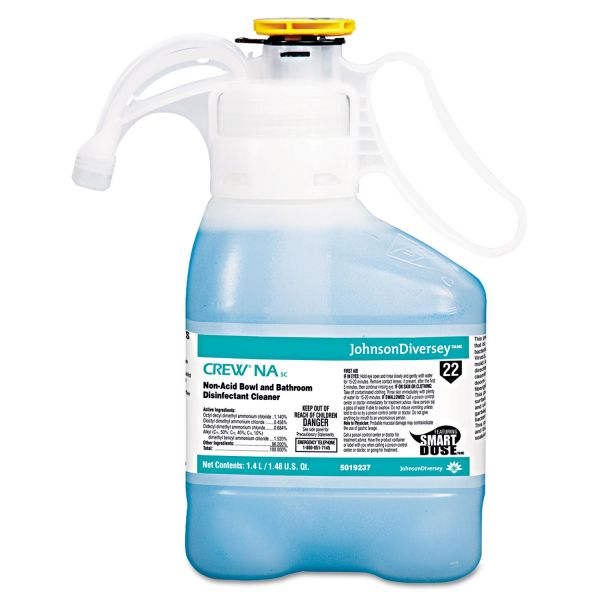 Diversey Crew Non Acid Bowl & Bathroom Disinfectant Cleaner - Smart Dose