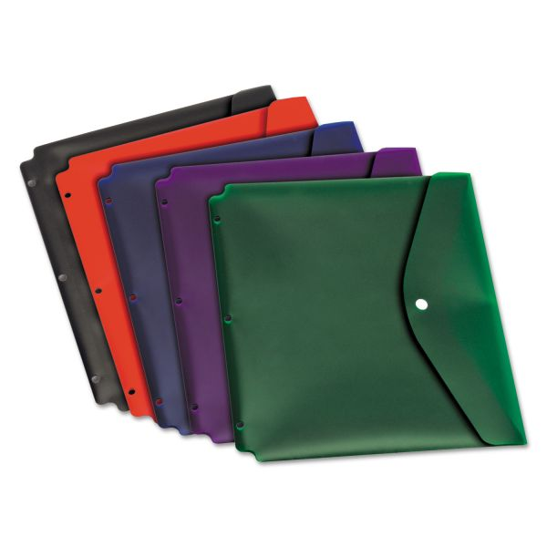Cardinal Dual-Pocket Snap Binder Pockets