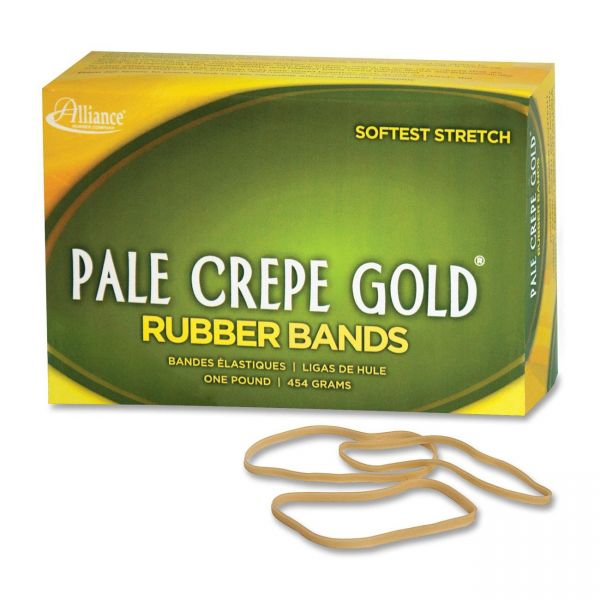 Pale Crepe Gold #33 Rubber Bands