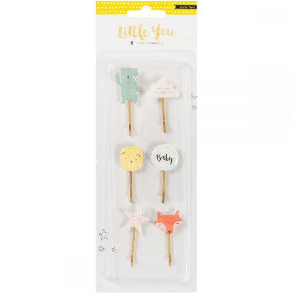 Little You Decorative Clips 6/Pkg