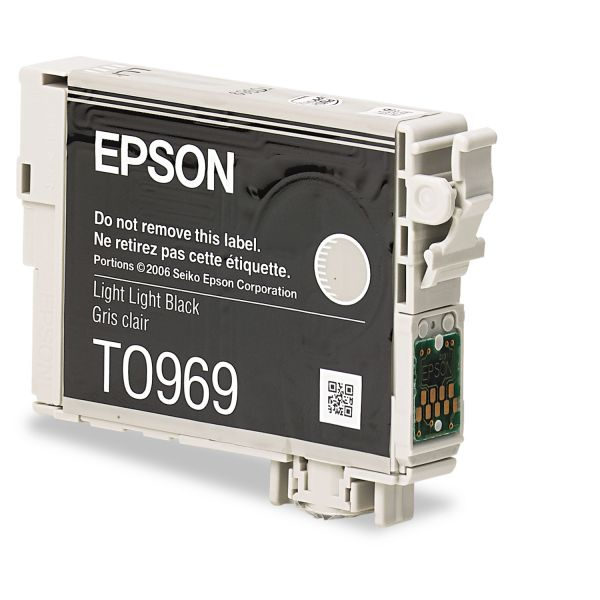Epson T0969 Light Light Black Ink Cartridge (T096920)
