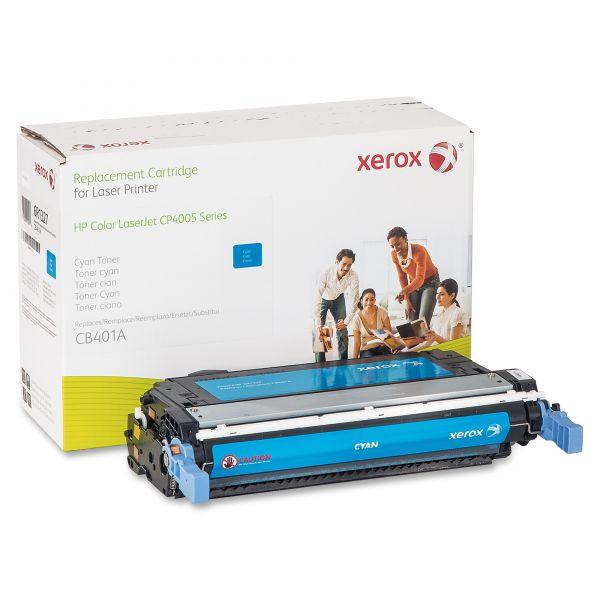 Xerox Remanufactured HP CB401A Cyan Toner Cartridge