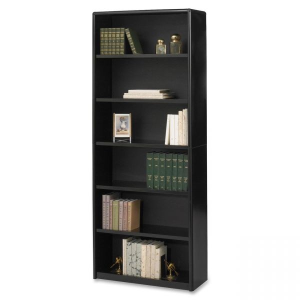 Safco ValueMate Economy 6-Shelf Steel Bookcase