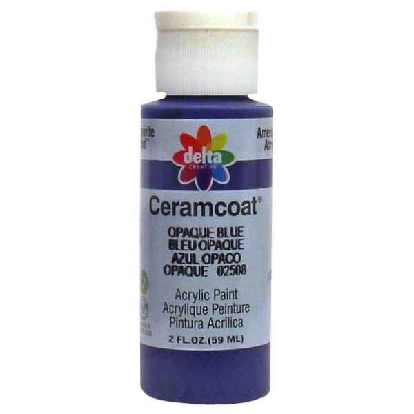 Ceramcoat Opaque Blue Acrylic Paint