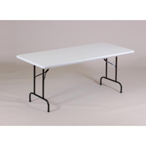 Correll Blow-Molded Heavy Duty Folding Table