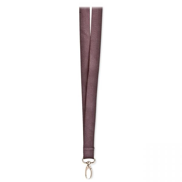 SICURIX Eco-friendly Bamboo Lanyard - Slate