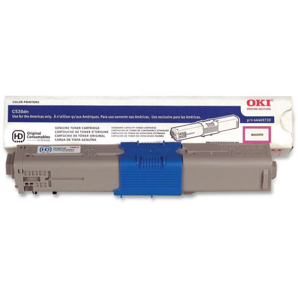 Oki 44469720 Magenta Toner Cartridge